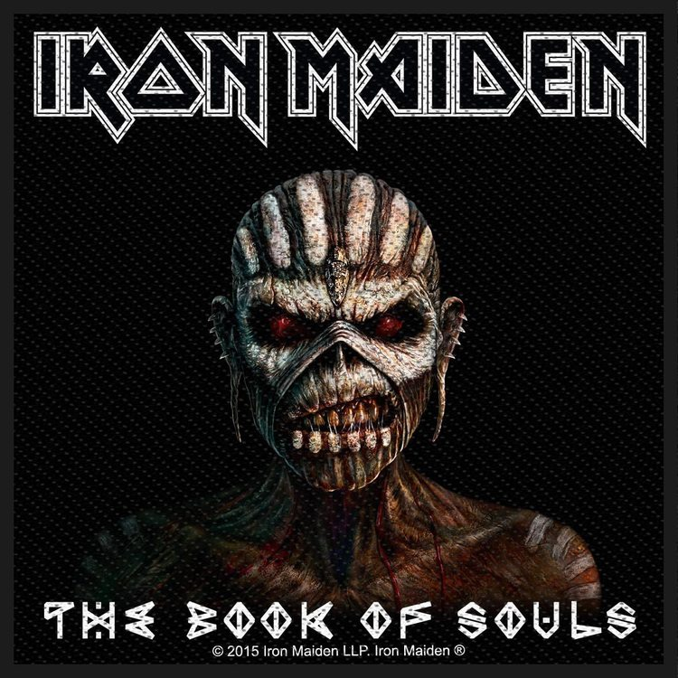 Iron Maiden 'The Book Of Souls'  Patch