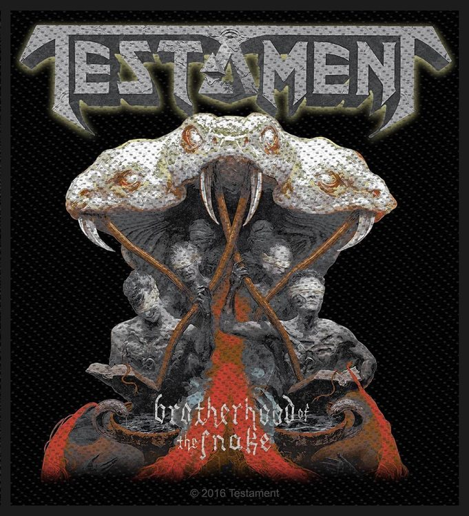Testament 'Brotherhood Of The Snake' Patch