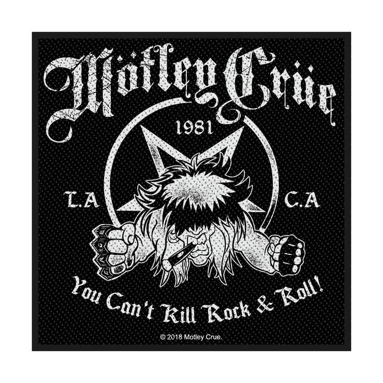 Mötley Crue 'You Can't Kill Rock N Roll' Patch