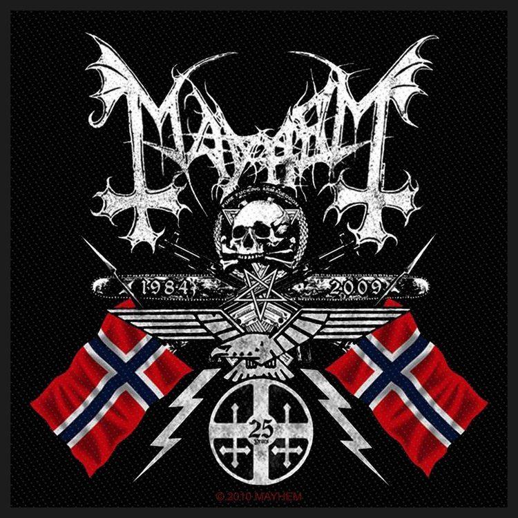 Mayhem 'Coat Of Arms' Patch
