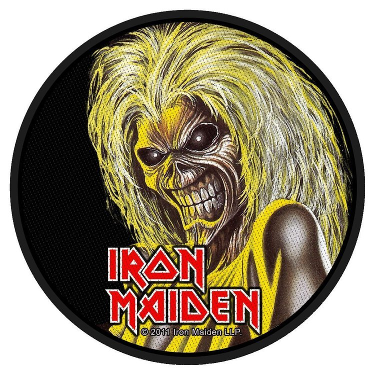 Iron Maiden 'Killers Face' Patch