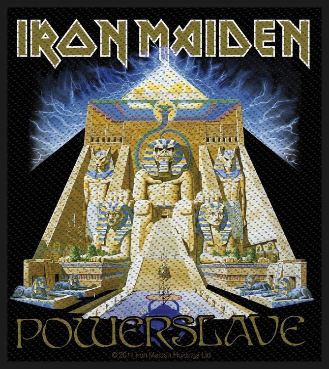 Iron Maiden 'Powerslave' Patch