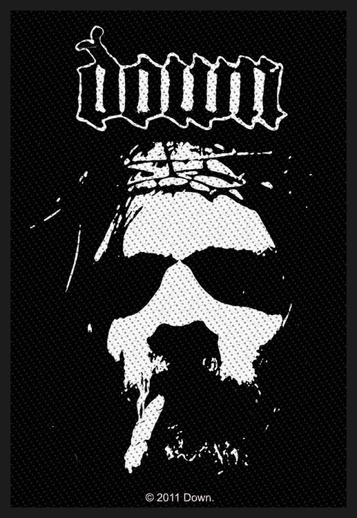 Down 'Logo/Face' Patch