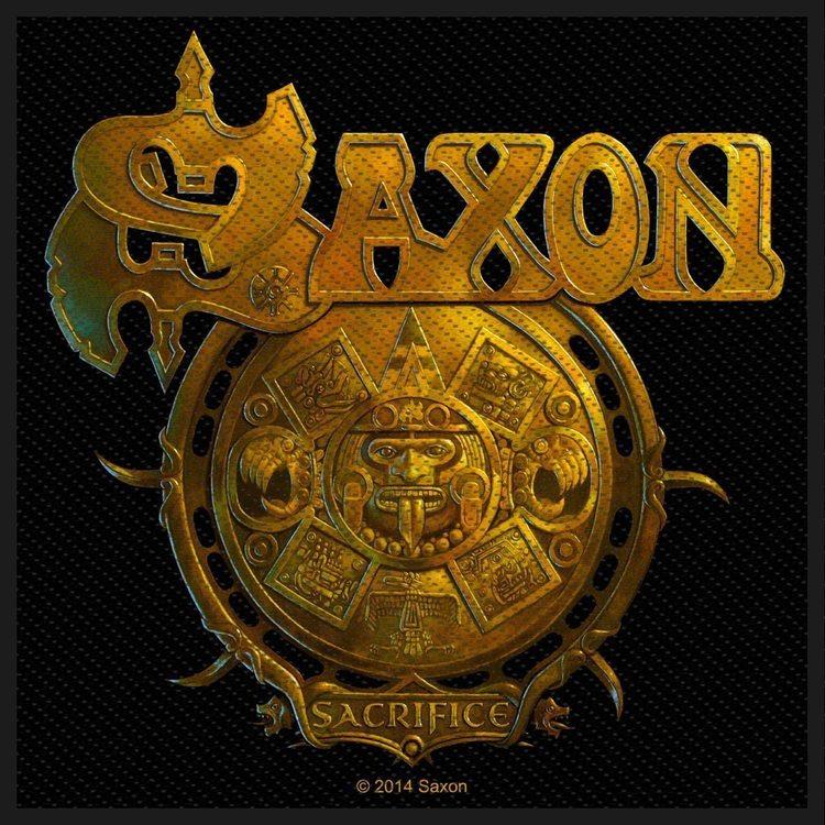 Saxon 'Sacrifice' Patch