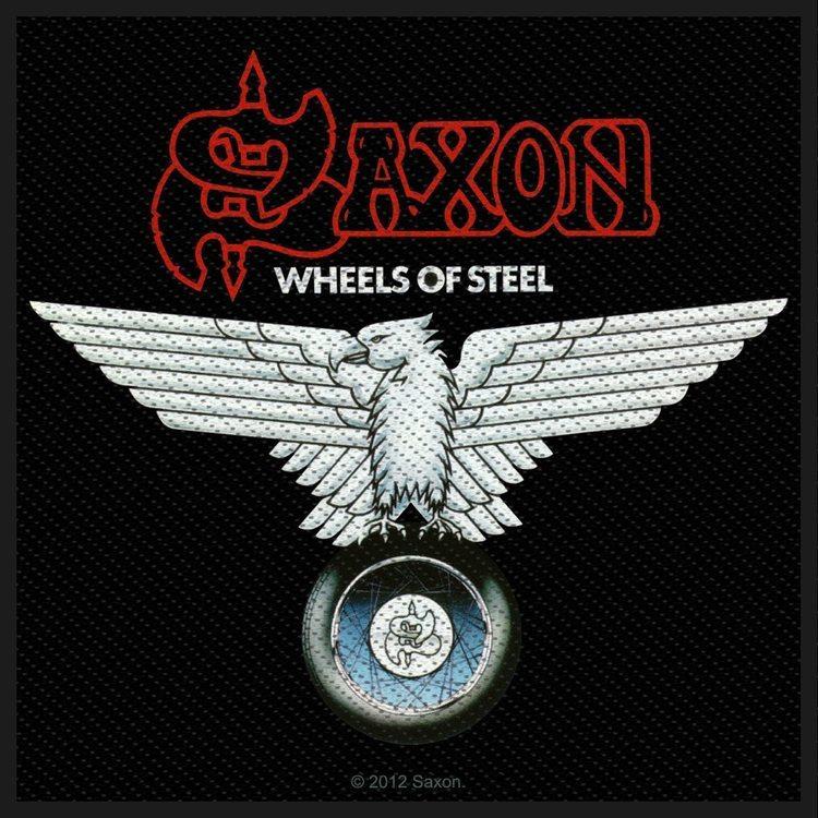Saxon 'Wheels Of Steel' Patch