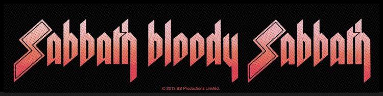 Black Sabbath 'Sabbath Bloody Sabbath' Superstrip