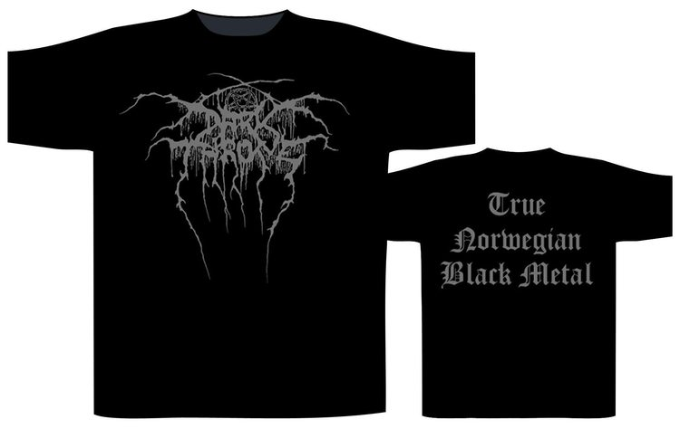 Darkthrone 'True Norwegian Black Metal' T-Shirt