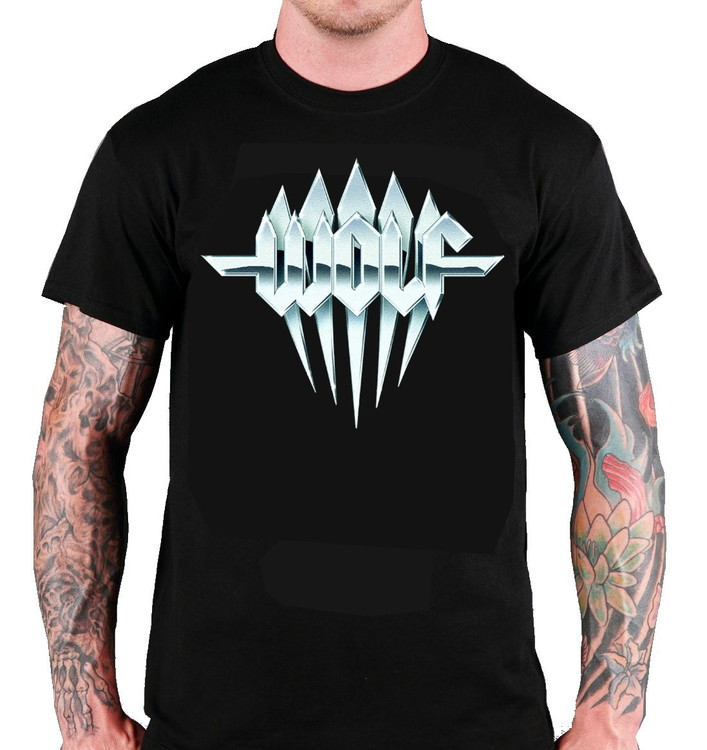 Wolf 'Steel Logo' T-Shirt