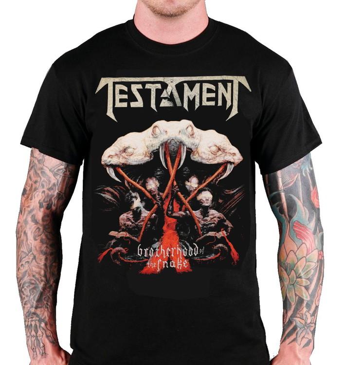 Testament Brotherhood of the snake T-shirt