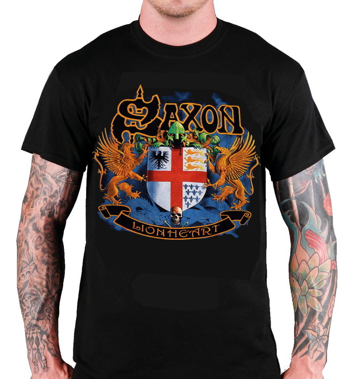 Saxon Lion heart T-shirt