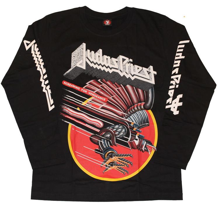 Judas priest Screaming for vengeance Long sleeve T-shirt