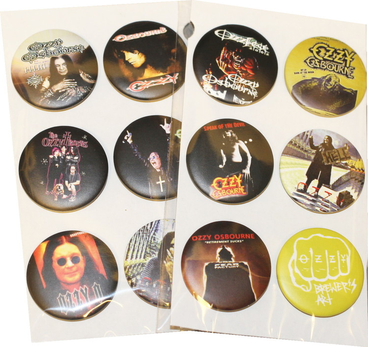 Ozzy 6-pack badge