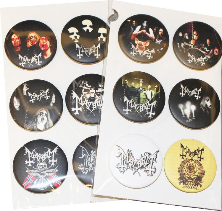 Mayhem 6-pack badge
