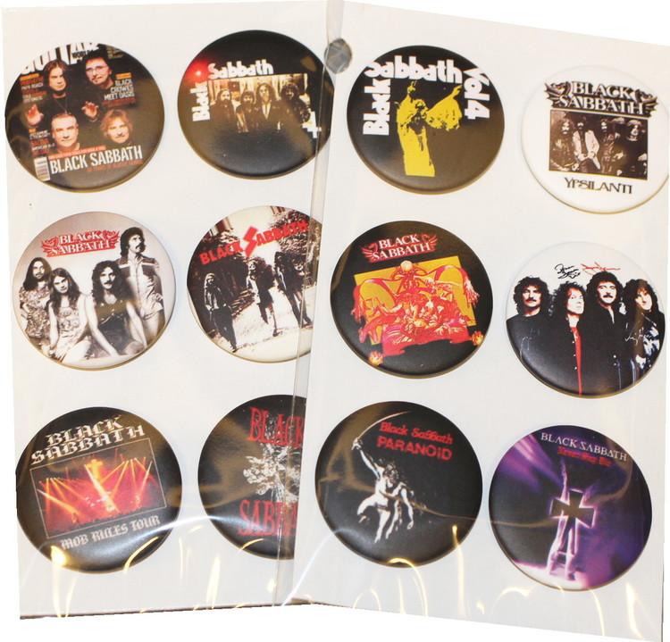 Black Sabbath 6-pack badge