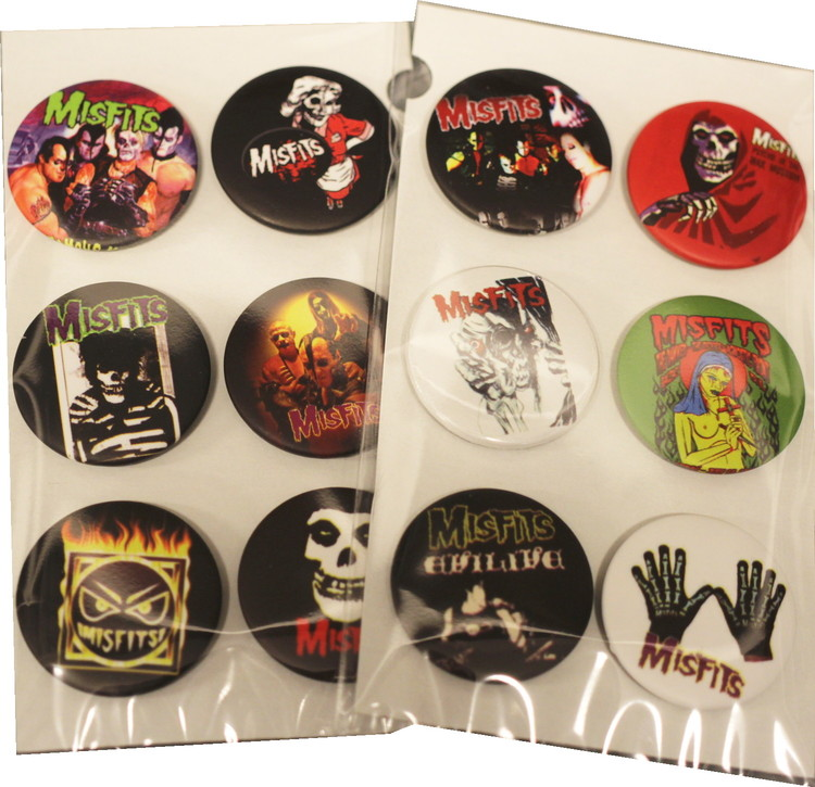 Misfits 6-pack badge