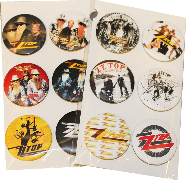 ZZ top 6-pack badge