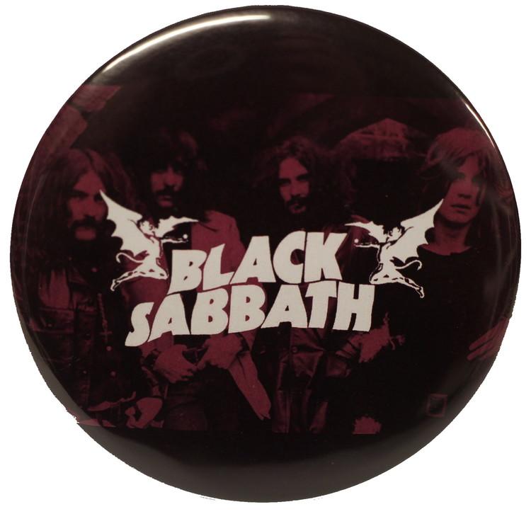 Black sabbath master of reality XL badge