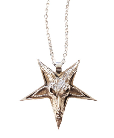 Halsband satanic goat