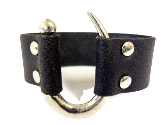 Läderarmband Krok