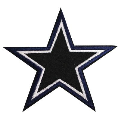 Black/blue star