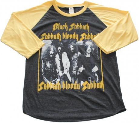 Black sabbath Sabbath bloody sabbath baseballshirt