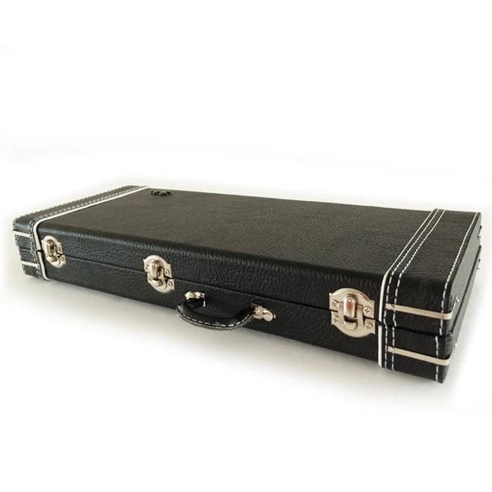 FENDER™ Miniature Black Guitar Case with Diecast Logo