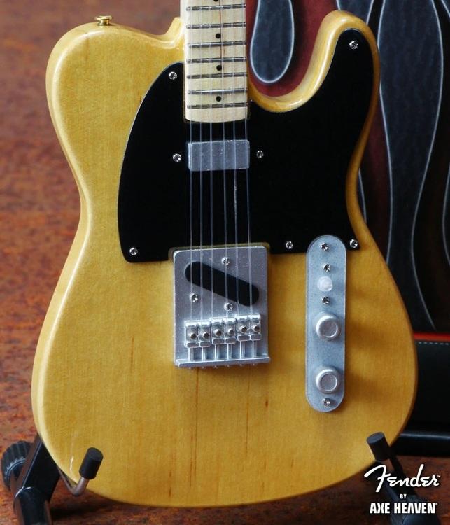 Fender™ Telecaster™ Guitar Replica Miniature Butterscotch Blonde
