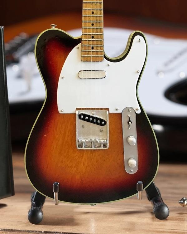 Blind Faith Signature Vintage Fender™ Telecaster® Miniature Guitar Replica - Sunburst