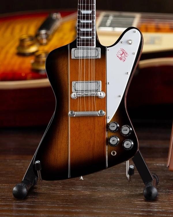 Gibson Firebird V Vintage Sunburst Mini Guitar Model