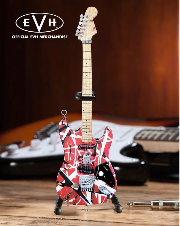 "EVH ""Frankenstein"" Eddie Van Halen Mini Guitar"