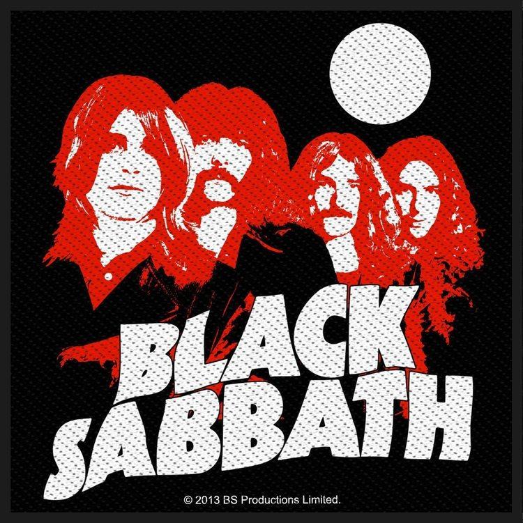 Black Sabbath 'Red Portraits' Patch