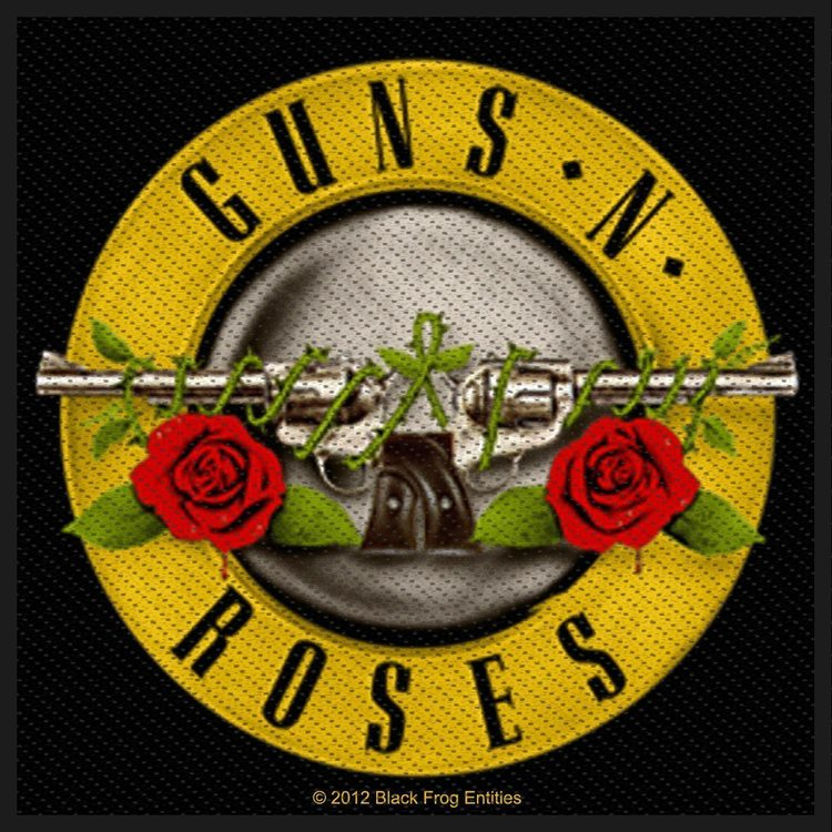 Guns N Roses 'Bullet Logo'