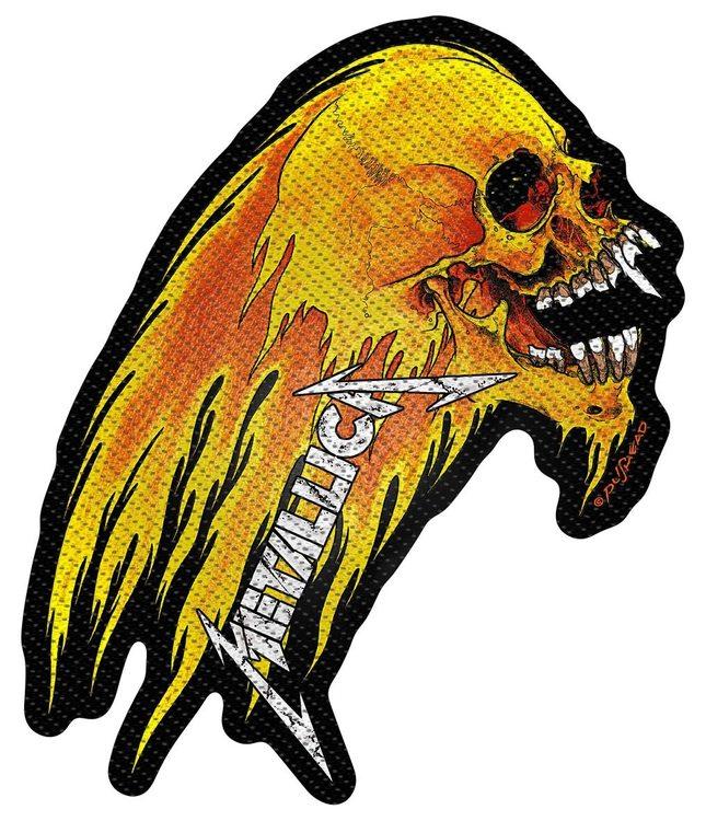 Metallica 'Flaming Skull' Cut Out