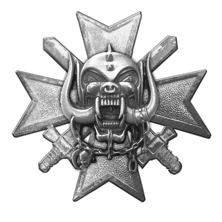 Motorhead 'Bad Magic' Metal Pin