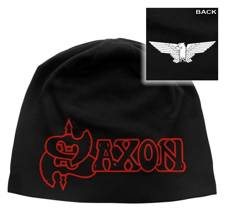 Saxon 'Logo & Eagle' Beanie