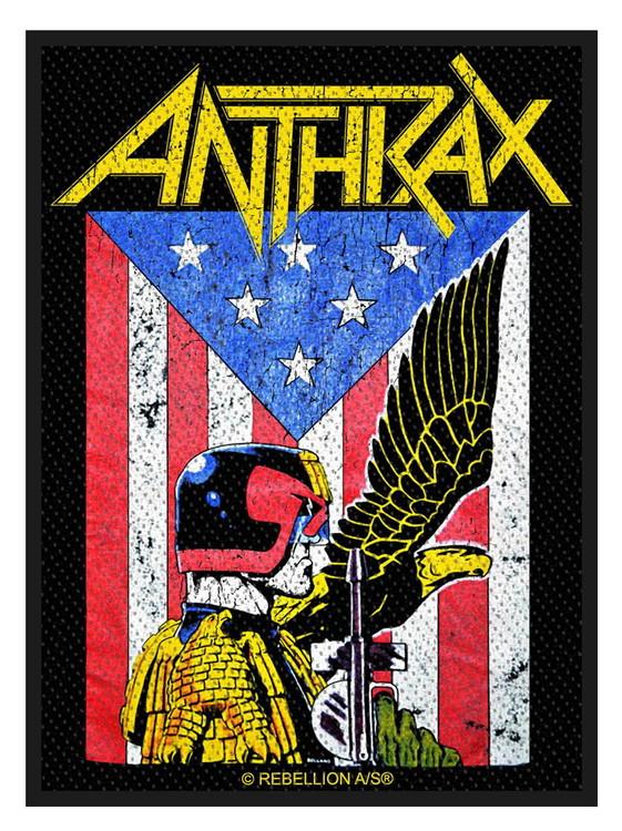 Anthrax 'Judge Dredd' Patch