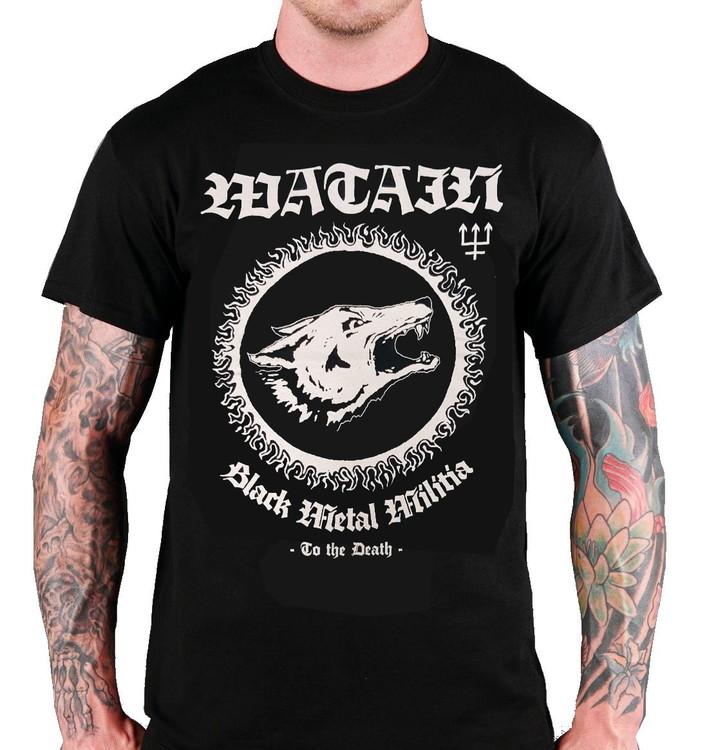 Watain Black metal militia T-Shirt