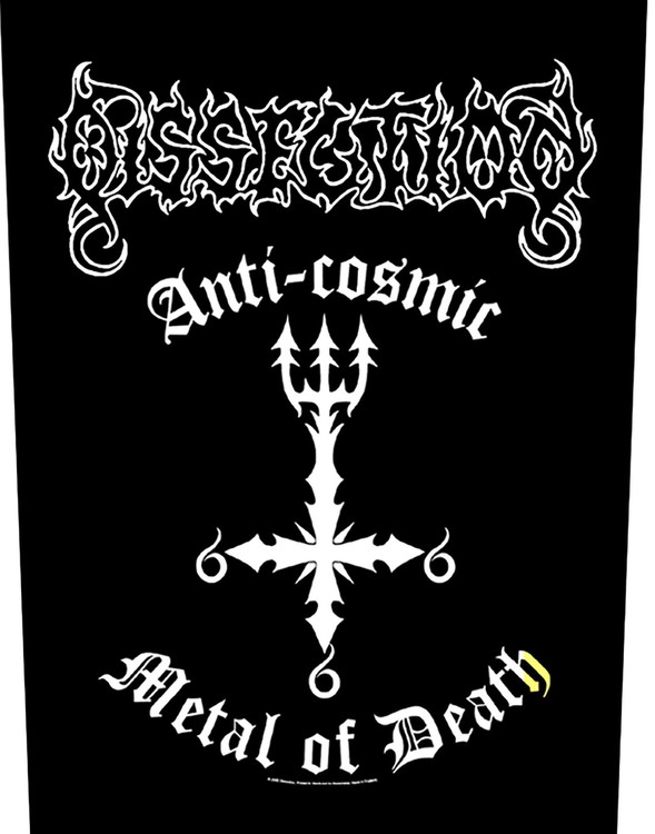 Dissection 'Anti Cosmic Metal Of Death' Backpatch
