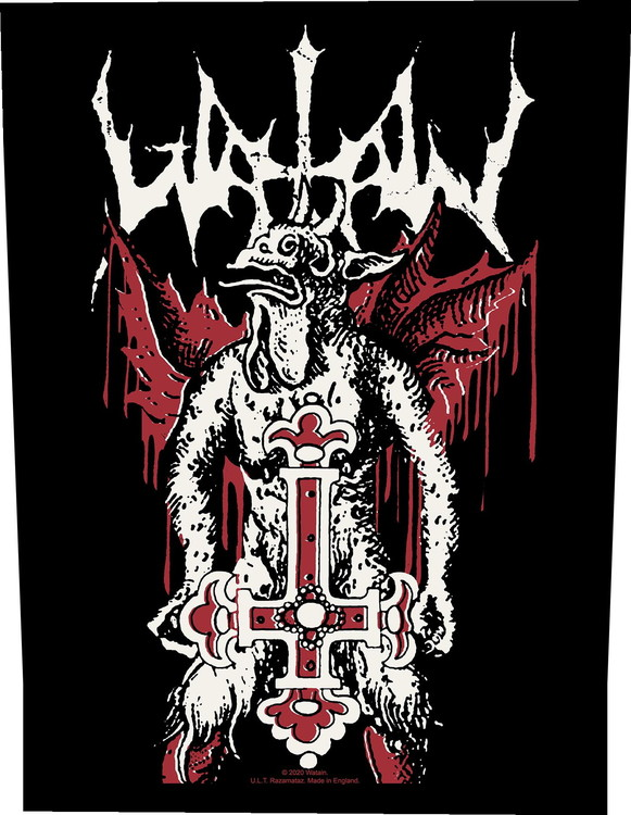 Watain 'Inverted Cross' Backpatch