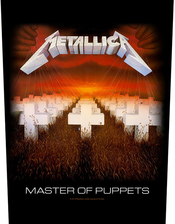 Metallica Back Patch: Master of Puppets