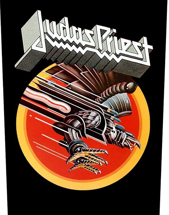 Judas Priest Back Patch: Screaming For Vengeance
