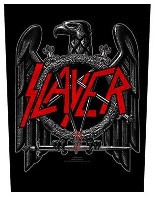 Slayer Back Patch: Black Eagle