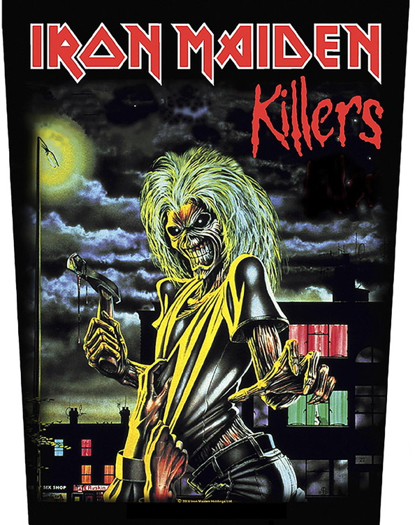 Iron Maiden 'Killers' Backpatch