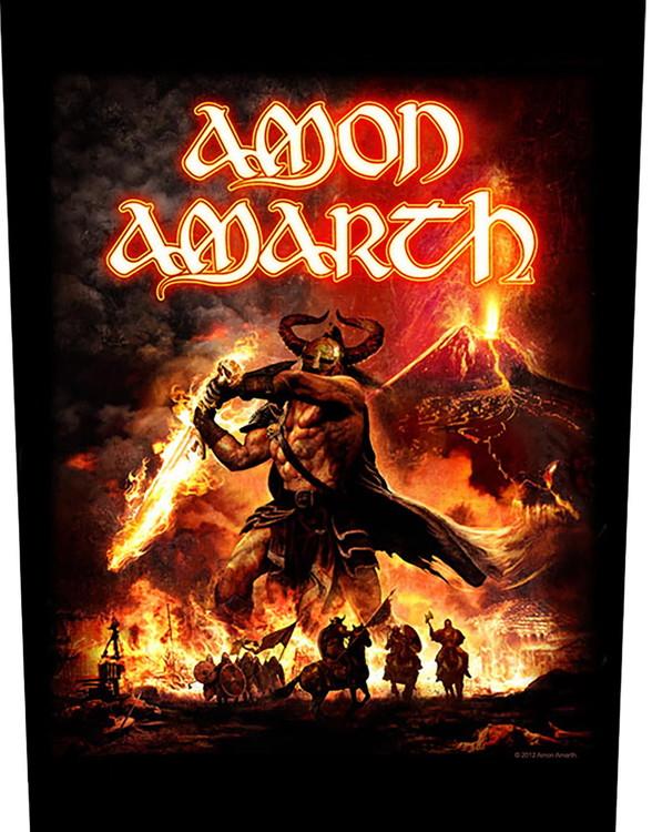Amon Amarth 'Surtur Rising' backpatch