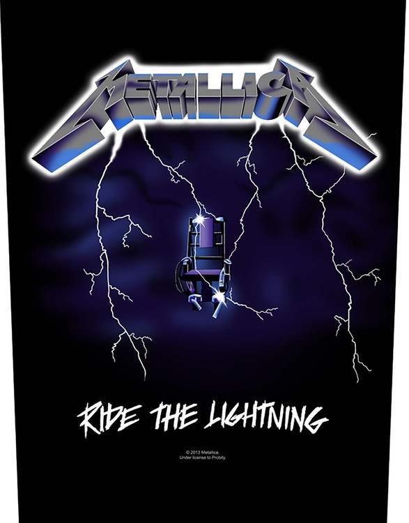 Metallica 'Ride The Lightning' Backpatch