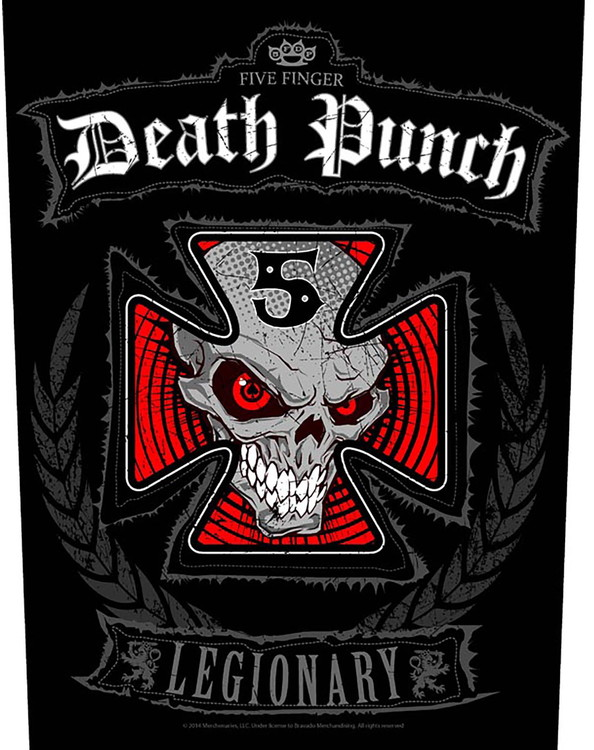 Five Finger 'Legionary' Backpatch