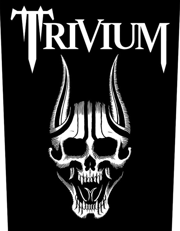 Trivium 'Screaming Skull' Backpatch