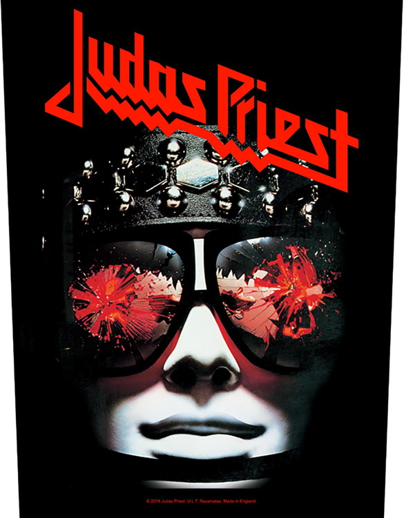 Judas Priest 'Hell Bent For Leather' Backpatch