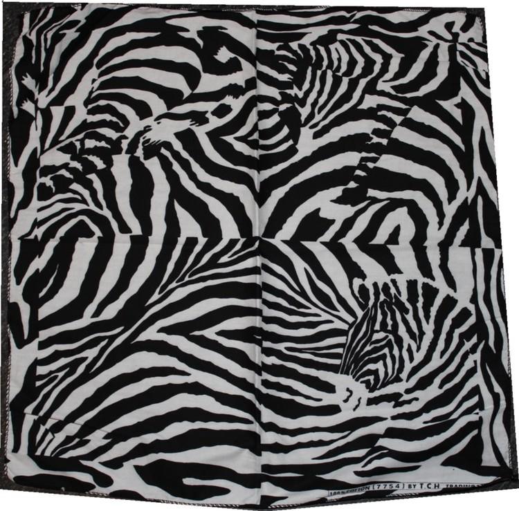 Bandana zebra mönstrad