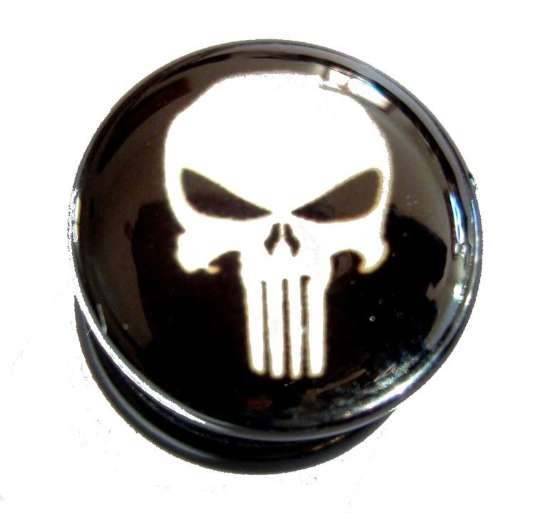 Akrylplugg Punisher 6-20mm